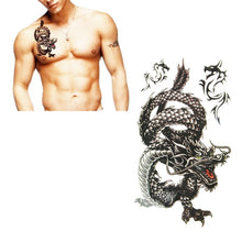 Load image into Gallery viewer, EXTRA LARGE Dragon Temporary Tattoos -  - TheGeekLeak.com