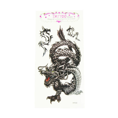 EXTRA LARGE Dragon Temporary Tattoos -  - TheGeekLeak.com