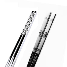 Load image into Gallery viewer, Stainless Steel Dragon Chopsticks -  - TheGeekLeak.com
