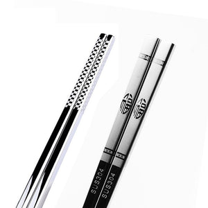 Stainless Steel Dragon Chopsticks -  - TheGeekLeak.com