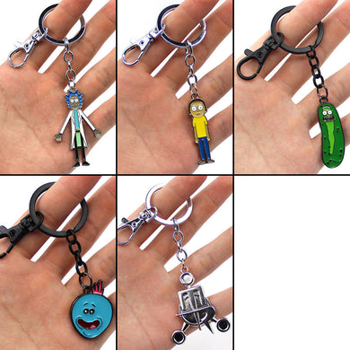 Rick and Morty - Keychain - Keychain - TheGeekLeak.com