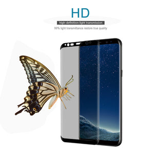 Full Curved Anti Spy Tempered Glass Screen Protector For Samsung & iPhone - Phone - TheGeekLeak.com