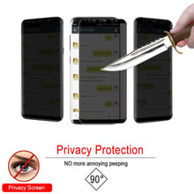 Load image into Gallery viewer, Full Curved Anti Spy Tempered Glass Screen Protector For Samsung & iPhone - Phone - TheGeekLeak.com