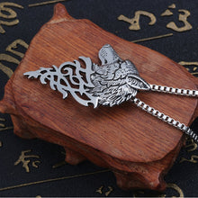 Load image into Gallery viewer, Wolf Pendant Necklace - Jewelry - TheGeekLeak.com