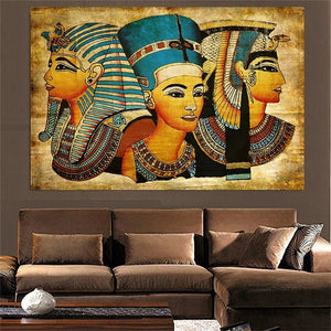 Ancient Egyptian Women - Oil Canvas Painting - Art - TheGeekLeak.com