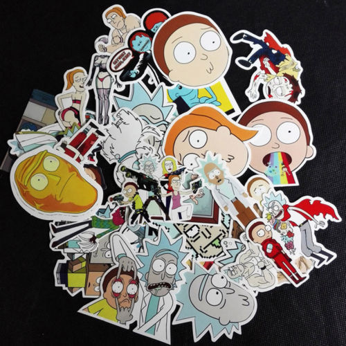 Rick and Morty Stickers - Stickers - TheGeekLeak.com