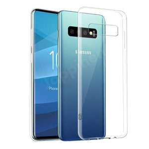 Transparent Silicone Cover For Samsung Galaxy S10 Series -  - TheGeekLeak.com