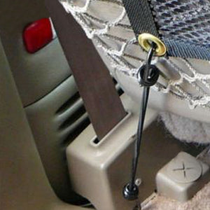 Adjustable Pet Car Isolation Fence - Accessories - TheGeekLeak.com