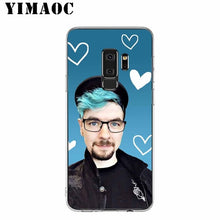 Load image into Gallery viewer, Jacksepticeye Silicone Case for Samsung Galaxy S10 S10E S9 S8 Plus S7 S6 Edge & Note 9 8 Soft Cover - Phone - TheGeekLeak.com