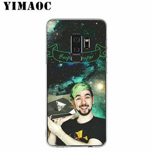 Jacksepticeye Silicone Case for Samsung Galaxy S10 S10E S9 S8 Plus S7 S6 Edge & Note 9 8 Soft Cover - Phone - TheGeekLeak.com