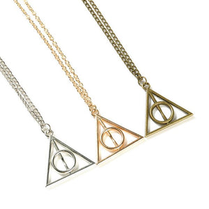 The Deathly Hallows Necklace - Jewelry - TheGeekLeak.com