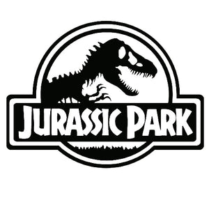 Jurassic Park Vinyl Decal - Stickers - TheGeekLeak.com