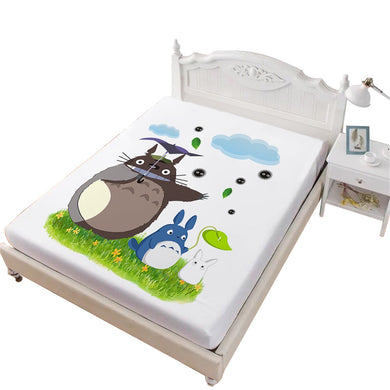 My Neighbor Totoro Fitted Sheets - Bedding - TheGeekLeak.com