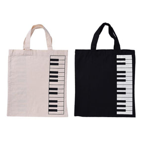 Keyboard Print Tote Bag - Tote Bag - TheGeekLeak.com