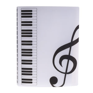 40 Page A4 Sheet Music Folder - Folders - TheGeekLeak.com