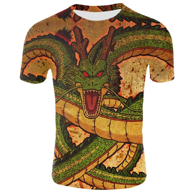 Dragon Ball  Muscle T-shirt - Clothing - TheGeekLeak.com