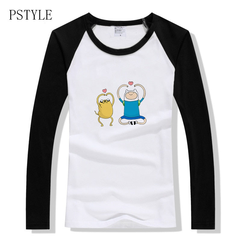 Finn and Jake Long Sleeve T-shirt - Clothing - TheGeekLeak.com