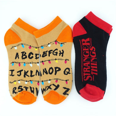 Stranger Things Short Socks - Clothing - TheGeekLeak.com
