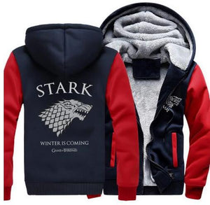 Game of Thrones - House Stark Zippered Hoodie