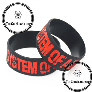 System Of A Down Silicone Bracelet - Jewelry - TheGeekLeak.com