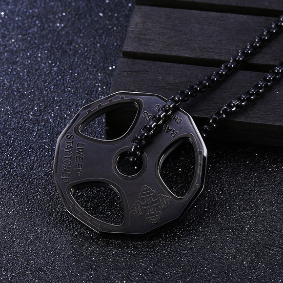 Bodybuilding Necklace  - Disc 25 Kg