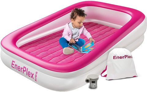 Kids Inflatable Toddler Air Mattress - Pink