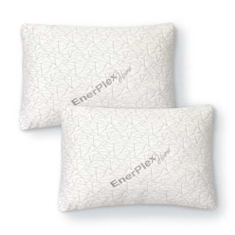 Adjustable Shredded Memory Foam King Size Pillow - 2-Pack