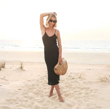 Load image into Gallery viewer, THE FLORENCE DRESS - BLACK