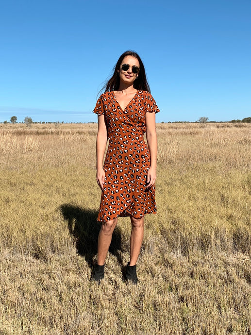 THE HATTIE DRESS - WILD