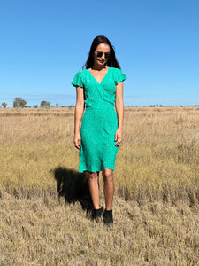 THE HATTIE DRESS - STARS