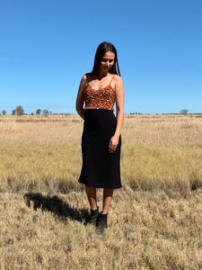 THE WREN SKIRT - BLACK
