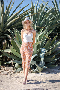 THE WREN SKIRT- FLORAL