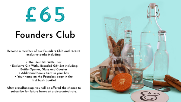Crowdfunder Founders Gin Box