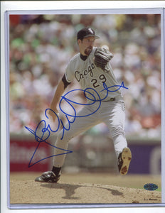 JACK MCDOWELL Autographed 8x10 Photo Chicago White Sox BBCE COA