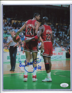 BILL CARTWRIGHT Autographed 8x10 Photo #4 Chicago Bulls JSA COA
