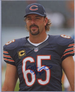 PATRICK MANNELLY Autographed 8x10 Photo #2 Chicago Bears
