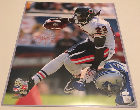 DEVIN HESTER Autographed 16x20 Photo #2 Chicago Bears JSA COA