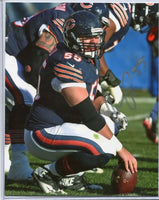 HRONISS GRASU Autographed 8x10 Photo #2 Chicago Bears