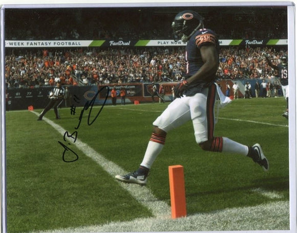 JOSH BELLAMY Autographed 8x10 Photo #2 Chicago Bears