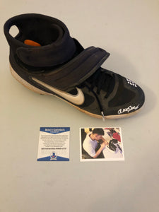 ALEK THOMAS Autographed 2020 GAME USED Nike Baseball Cleat Size 10.5 Arizona Diamondbacks Beckett COA #1