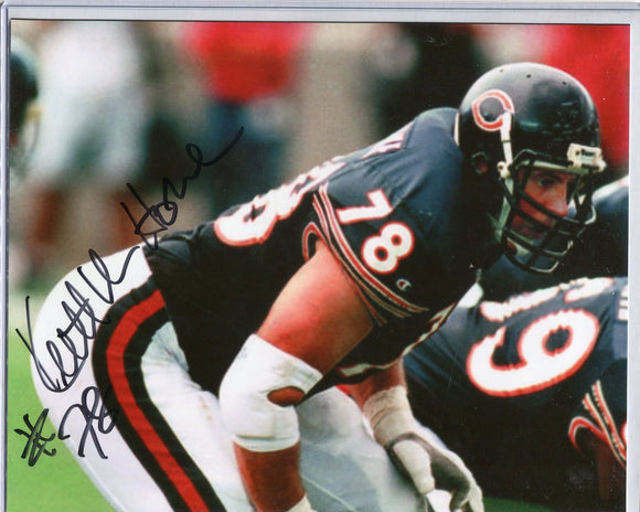 KEITH VAN HORNE Autographed 8x10 Photo #2 Chicago Bears