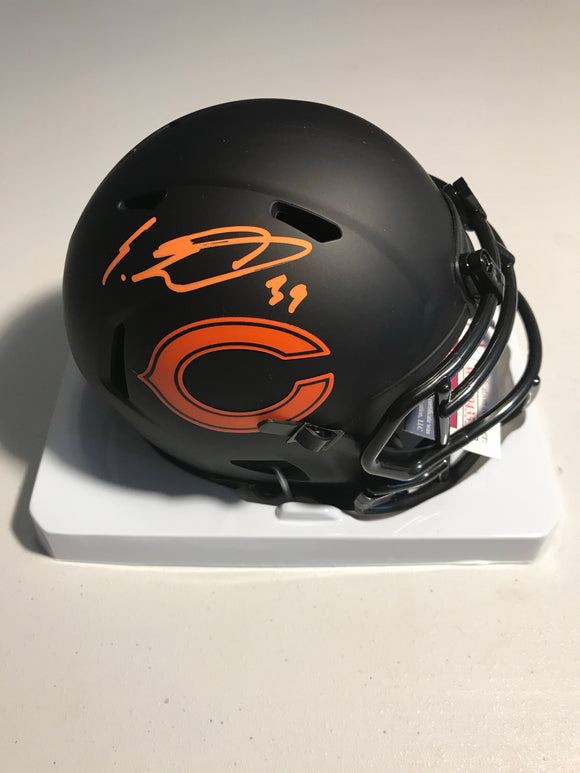 EDDIE JACKSON Autographed Chicago Bears Alternative Eclipse Mini Helmet JSA COA