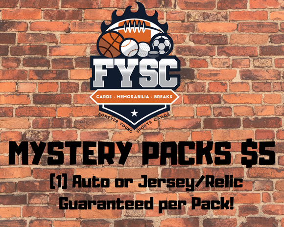 FYSC MYSTERY PACKS - Hockey Edition