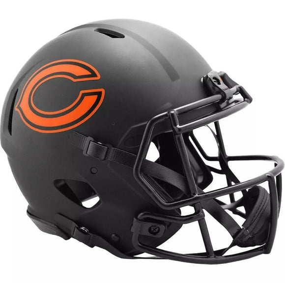 Unsigned Item - Riddell Chicago Bears Alternative Eclipse Speed Full Size Replica Helmet