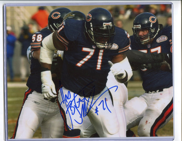 JAMES WILLIAMS Autographed 8x10 Photo #2 Chicago Bears