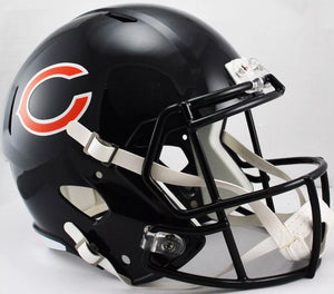 Unsigned Item - Riddell Chicago Bears Speed Full Size Replica Helmet