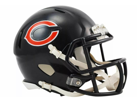 Unsigned Item - Riddell Chicago Bears Speed Mini Helmet