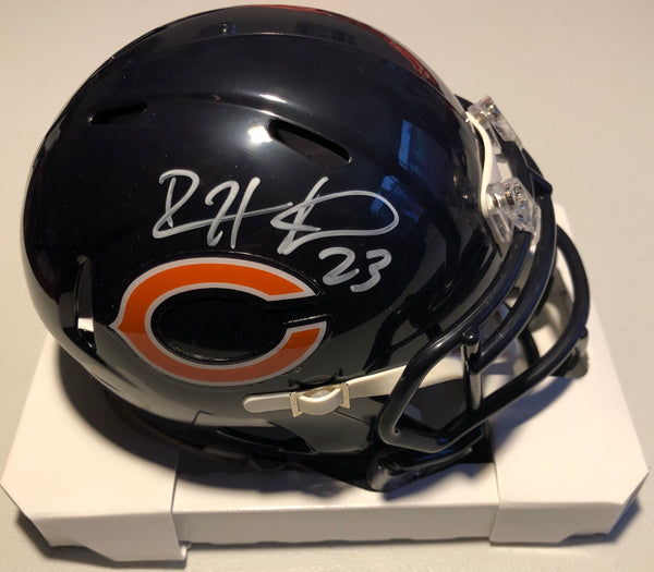 DEVIN HESTER Autographed Speed Mini Chicago Bears Helmet with JSA COA