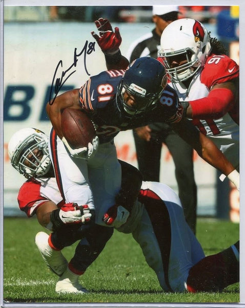 CAMERON MEREDITH Autographed 8x10 Photo #2 Chicago Bears