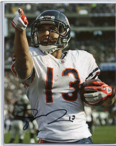 JOHNNY KNOX  Autographed 8x10 Photo Chicago Bears